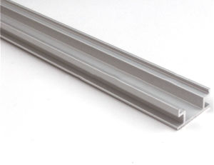 Aluminum Profile for Ground with Thicker PC Cover Hh-P009 pictures & photos