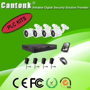 4 Channel H. 264 PLC NVR & IP Camera Kits pictures & photos