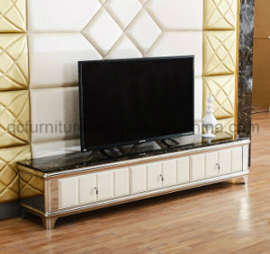 Tempered Glass Simple TV Stand Set pictures & photos