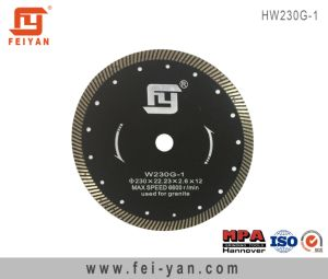 Hot Pressed Turbo Blade for Granite pictures & photos