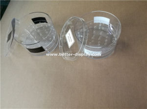 Clear Acrylic Round Flower Box Professional Manufacturer pictures & photos