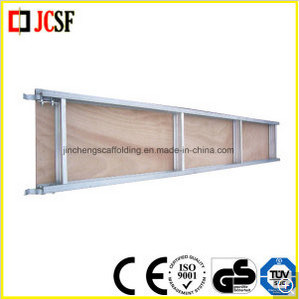 Construction Scaffolding Frame System Aluminium Wood Board with Hook pictures & photos