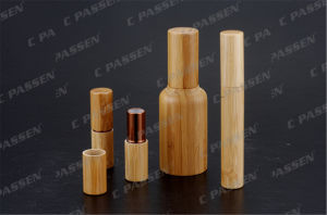 Bamboo Acrylic Lipstick Tube Lotion Bottle for Cosmetic Packaging (PPC-ALB-054) pictures & photos