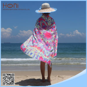 Custom 100% Cotton Large Round Beach Towel Mandala Wholesale