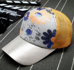 Sequin Sunflower Simple Sports Sun Hat pictures & photos