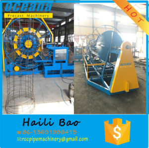 Reinforced Concrete Pipes Cage Welding Machine to Indonesia pictures & photos