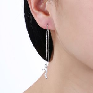 New Design Fancy Plating Silver Earring Jewelry pictures & photos