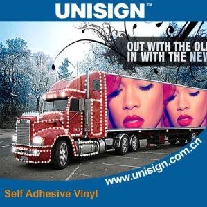 Waterproof Self Adhesive Vinyl Sticker Rolls Foeco-Solvent and UV Printing pictures & photos