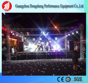 New Style Durable Outdoor Concert Stage Truss / Heavy Duty Booth Truss From Guangzhou pictures & photos