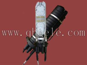 Optic Splice Closure -- 1 Oval Port, 4 Round Ports pictures & photos