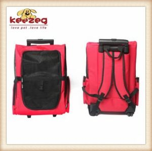 Four Colors Pet Dog Pull Case / Pet Carrier Rolling Backpack/Travel Tote (KDS014) pictures & photos