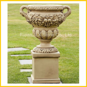 Stone Granite Marble Flower Pot for Garden & Square pictures & photos