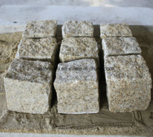 G682 Sunset Gold Granite Cobblestone/Paving Stone/ Concrete Pavers for Outdoor Lansacpe pictures & photos