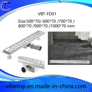 China Newest Style Stainless Steel Hotel Bathroom Floor Drainer pictures & photos