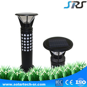 High Lumen High Quality Motion Sensor LED Outdoor Solar Garden Light with RGB pictures & photos