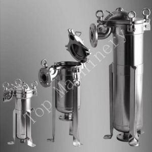 High Flow Stainless Steel Sign Bag Filter Housing pictures & photos
