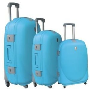PP Combination Lock Trolley Case pictures & photos