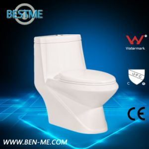 Hot Selling Ceramic Toilet in White Color pictures & photos
