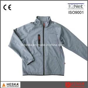 Autumn Stylish Sports Coat Polyester Softshell Jacket pictures & photos