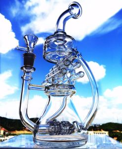 Hb King Blast Recycler Glass Water pipe Smoking Borosilicate Glass Pipe pictures & photos