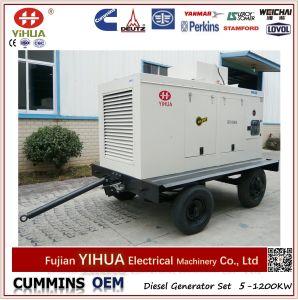 Mobile Trailer 150kVA/120kw Cummins Portable Silent Diesel Generator pictures & photos