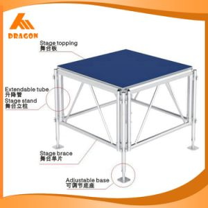 Aluminum Mobile Stage, Portable Stage, Wedding Stage Decoration for Sale pictures & photos
