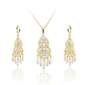 African 18k Gold Plated Jewelry Sets in Latest Design for Women pictures & photos