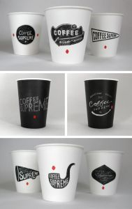 Disposable Single Wall Paper Cups pictures & photos