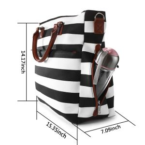 Fashion Shoulder Handbag Mummy Mother Baby Nappy Changing Diaper Bag pictures & photos