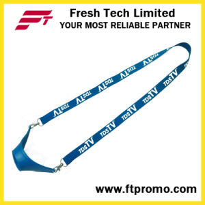 Whloesale Promotion Polyester Lanyard with Designed Logo pictures & photos