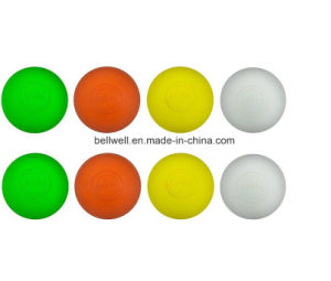 Rubber Lacrosse Ball Custom Printing Logo pictures & photos