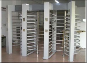 High Quality Full Automatic Full Height Turnstile Gate pictures & photos