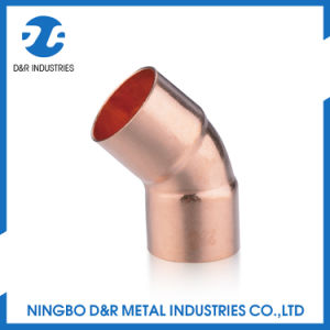 High Quality Copper Pipe Fitting 45 Degree Elbow pictures & photos