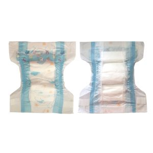 Round Elastc Waist Baby Diaper in Bale Bulk Good Quality pictures & photos