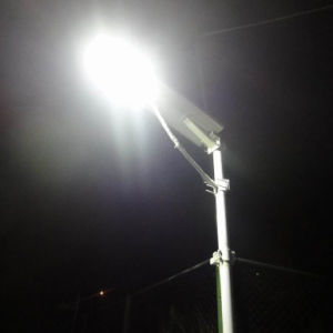 20W-120W Smart Bluetooth APP Integrated Solar LED Street Light pictures & photos