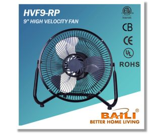 "Hot Sell 9"" High Velocity Fan, Black Color pictures & photos"