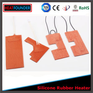 Flexible Silicone Rubber Heater 12V Heating Pad with pictures & photos