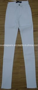 7.1oz White Sinny Ladies Jeans (HY6168) pictures & photos
