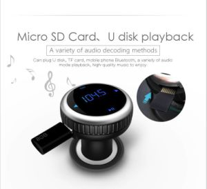 Bluetooth Car Kit MP3 Player Hands-Free Call Wireless FM Transmitter LCD Display USB Charger pictures & photos