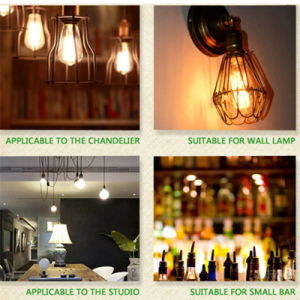 LED Filament Bulb Dimmable St64 E27 4W 8W pictures & photos