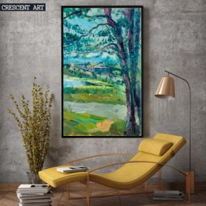 Countryside Field Wall Art Big Tree Oil Painting pictures & photos