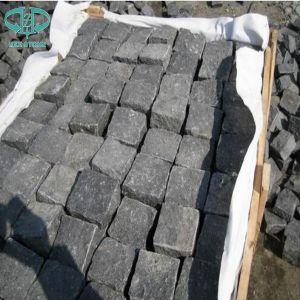 Zhangpu Black Cobbles, China Basalt, Dark Basalt pictures & photos