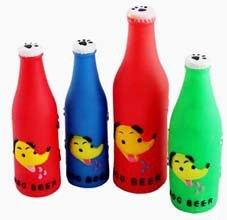 Dog Squeaky Beer Bottle Toy, Pet Toy pictures & photos