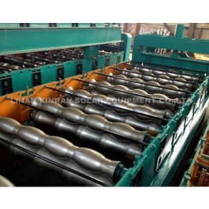 Colored Steel Glazed Tile Roll Forming Machine pictures & photos