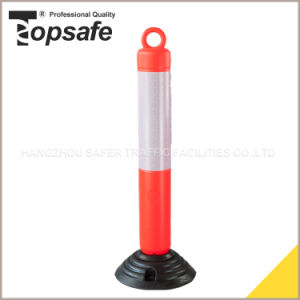 LDPE Orange Color Spring Post pictures & photos