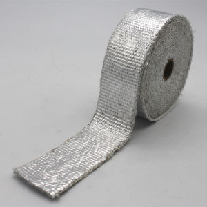 Aluminized Chrome Exhaust Header Heat Wrap Tape pictures & photos