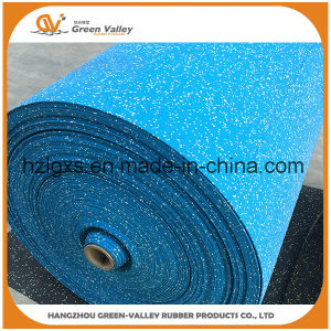 Noise Reducing Gym Rubber Flooring Mats Rubber Rolls for Wholesale pictures & photos