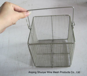 Stainless Steel Wire Mesh Strainer Basket pictures & photos
