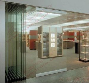 High Quality Movable Frameless Glass Partition Door (BHA-DBF20) & China High Quality Movable Frameless Glass Partition Door (BHA ... Pezcame.Com