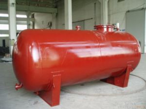 1-100 Cube Meter Capacity Horizontal Type Storage Tank for Filling Station pictures & photos